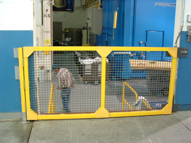 Fiberglass Molded Grating Gate